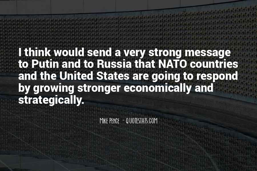 Quotes About Strong Countries #200959