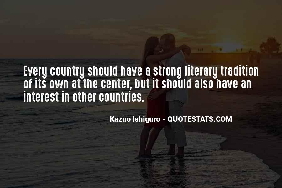 Quotes About Strong Countries #228619