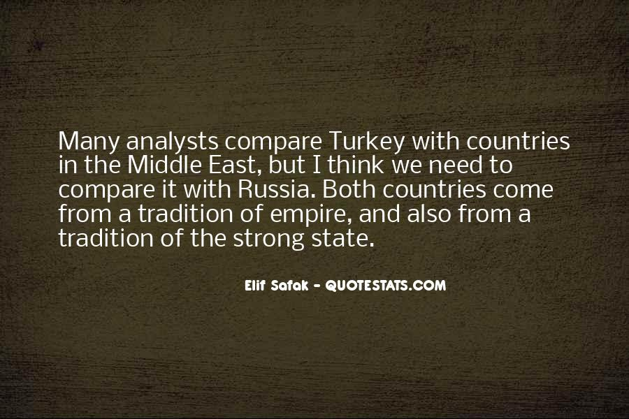 Quotes About Strong Countries #294491