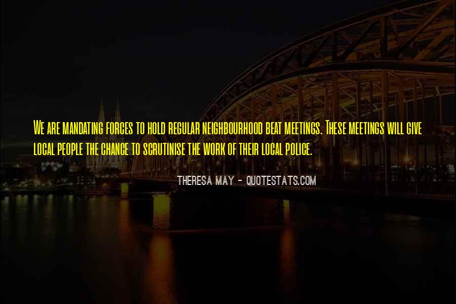 Quotes About Chance Meetings #189556