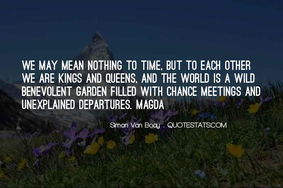 Quotes About Chance Meetings #6931