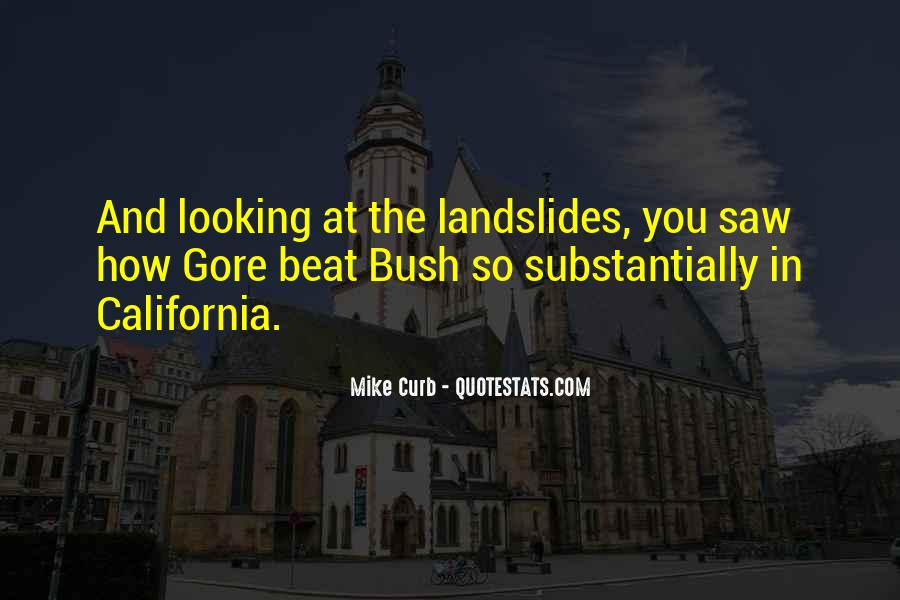 Quotes About Landslides #1631419