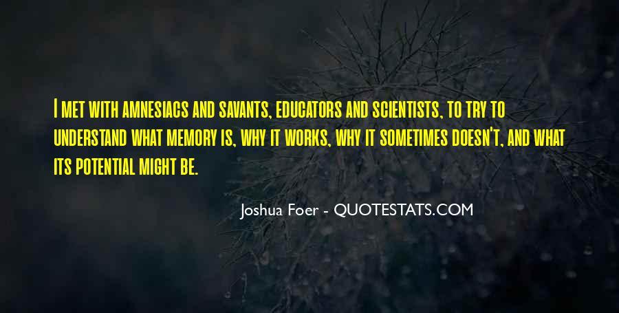Quotes About Savants #1726603