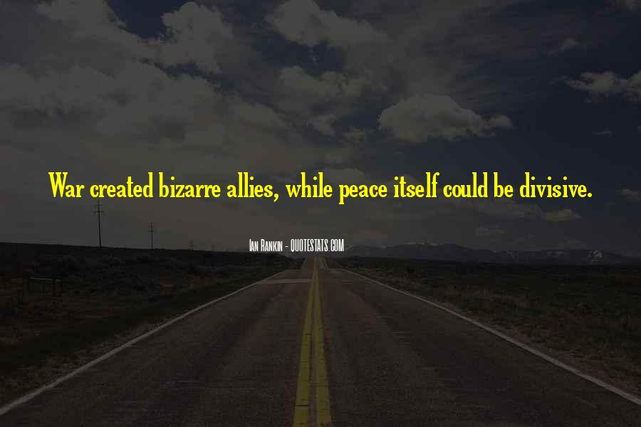 Quotes About Allies In War #115420
