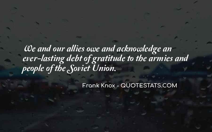 Quotes About Allies In War #1412089