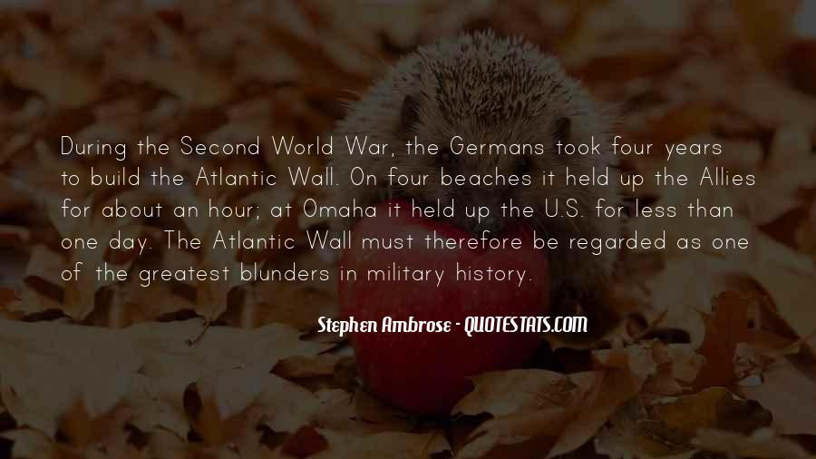 Quotes About Allies In War #1570889