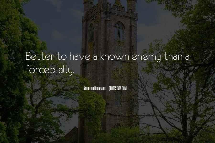 Quotes About Allies In War #1758647