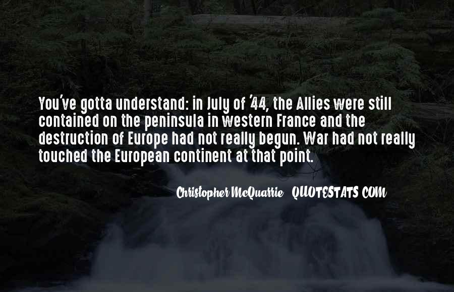 Quotes About Allies In War #399309