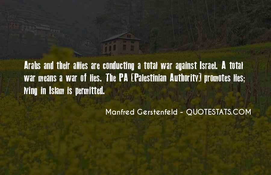 Quotes About Allies In War #698077
