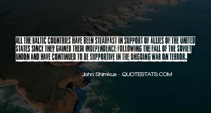 Quotes About Allies In War #89521