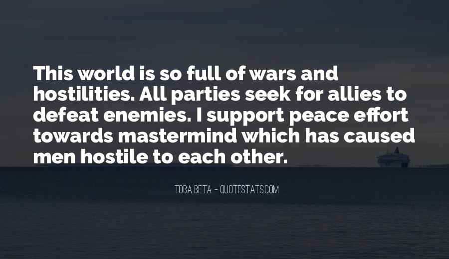Quotes About Allies In War #912115