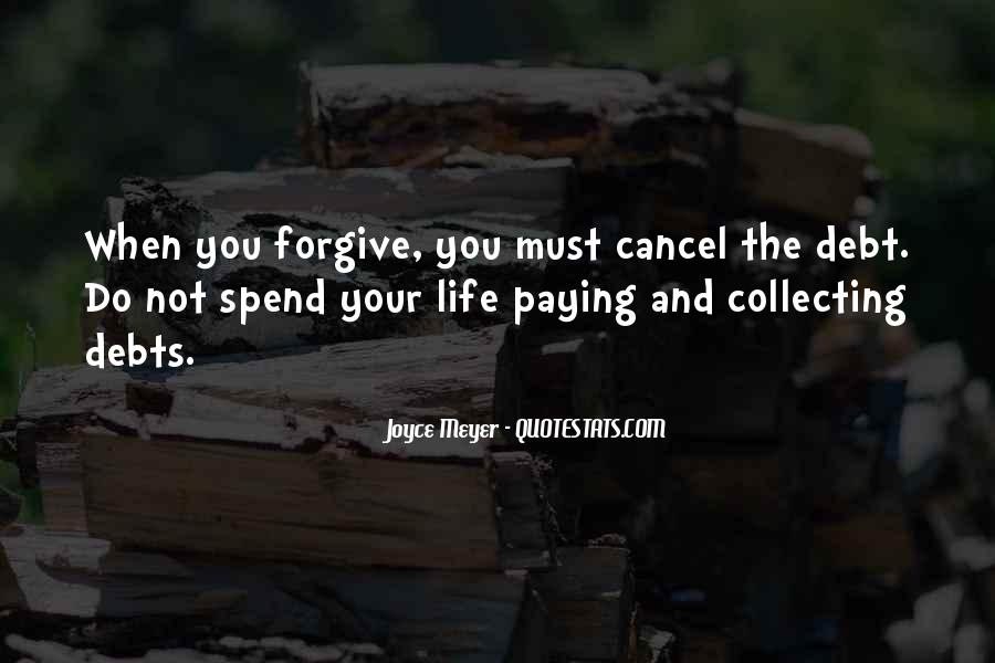 Quotes About Collecting Debts #122123