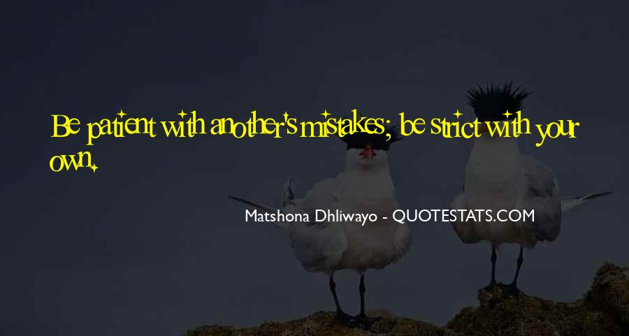 Quotes About Own Up To Your Mistakes #1370