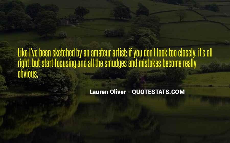 Quotes About Own Up To Your Mistakes #1968
