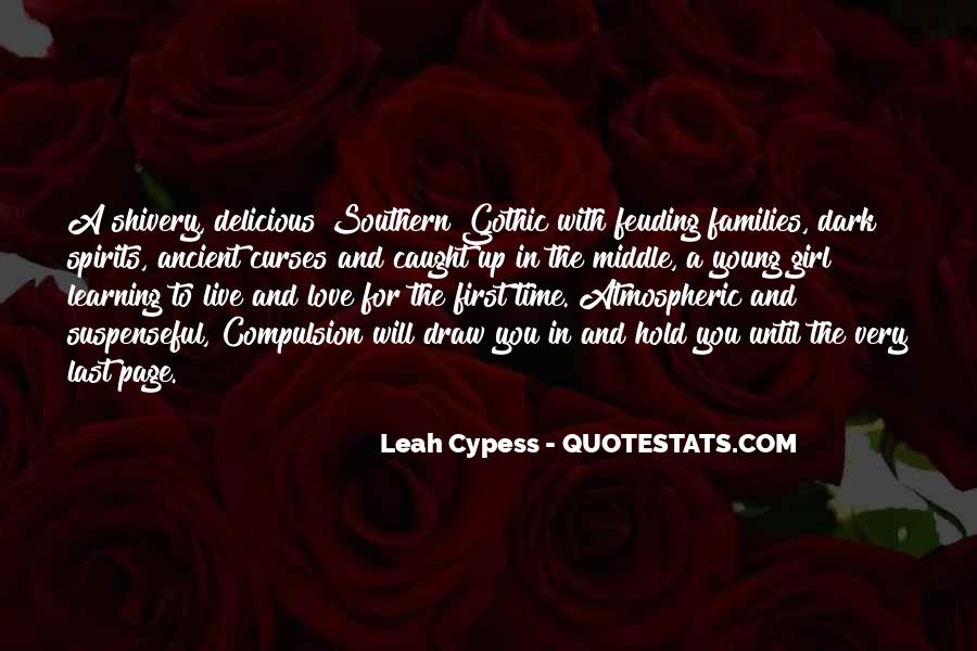 Quotes About Feuding Families #425065
