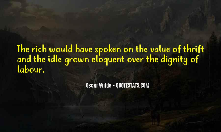 Quotes About Dignity Of Labour #127552