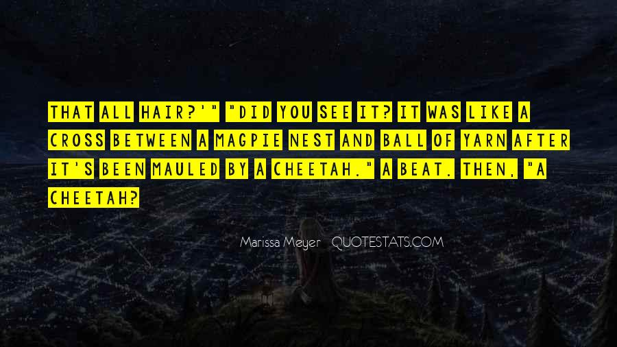 Quotes About Cheetah #1047023