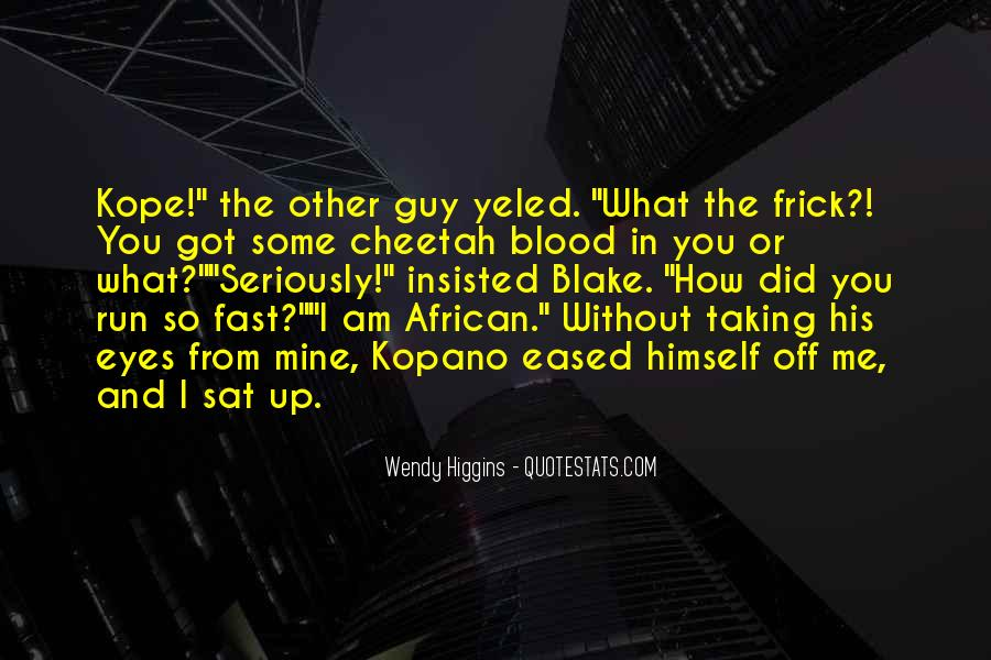 Quotes About Cheetah #1787631