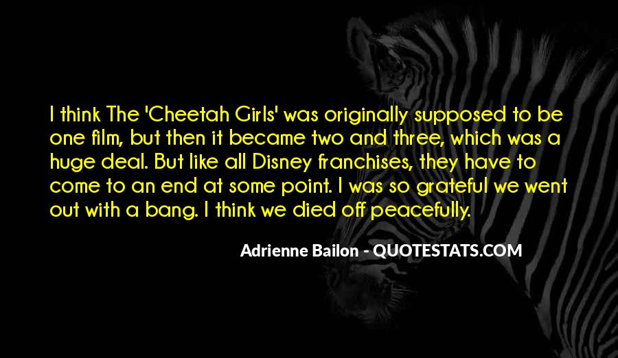 Quotes About Cheetah #1835069