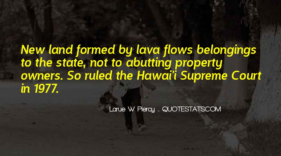 Quotes About Lava #1127354