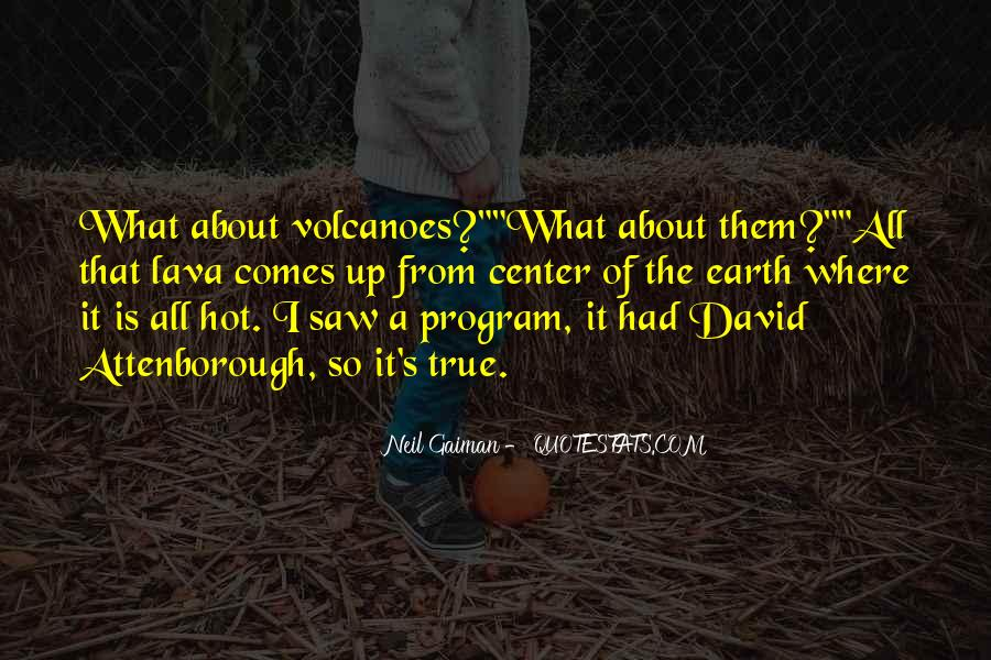 Quotes About Lava #1658702
