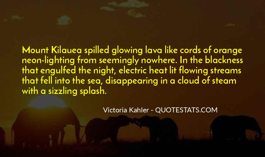 Quotes About Lava #301244