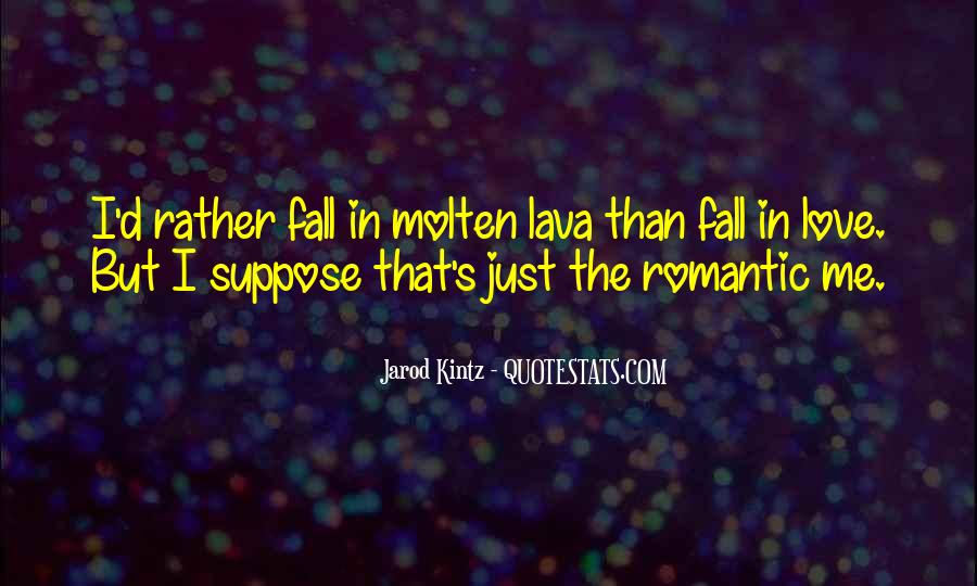 Quotes About Lava #331620