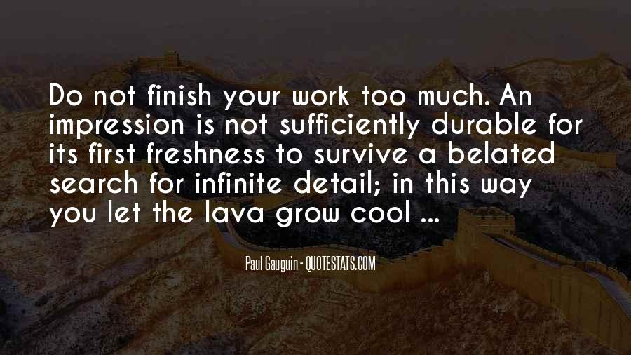 Quotes About Lava #447223