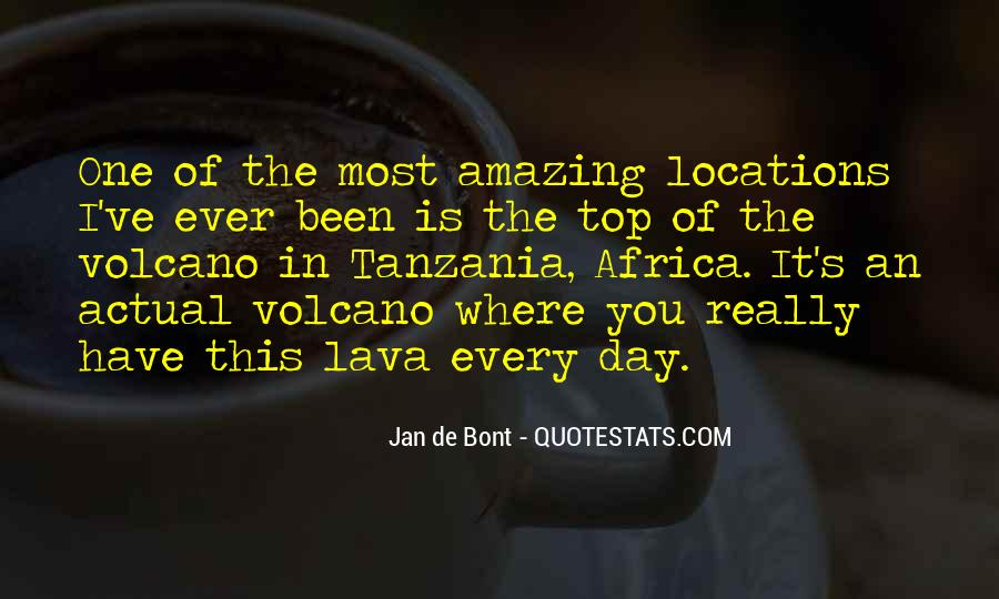 Quotes About Lava #899830