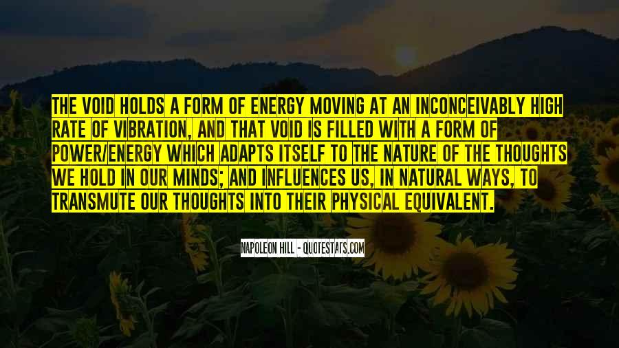 Quotes About Energy And Vibration #710601