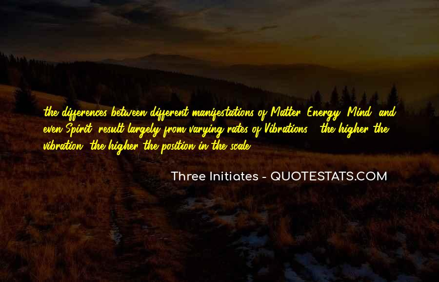 Quotes About Energy And Vibration #855831