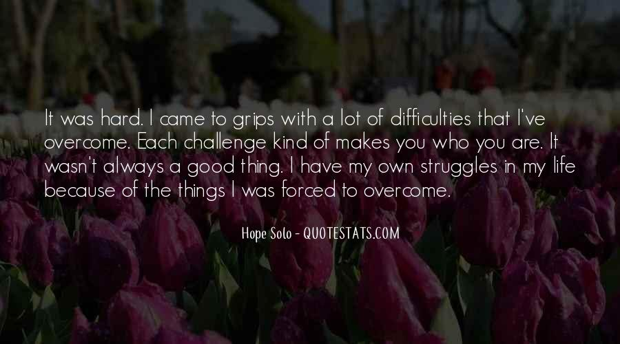 Quotes About Struggles #155129