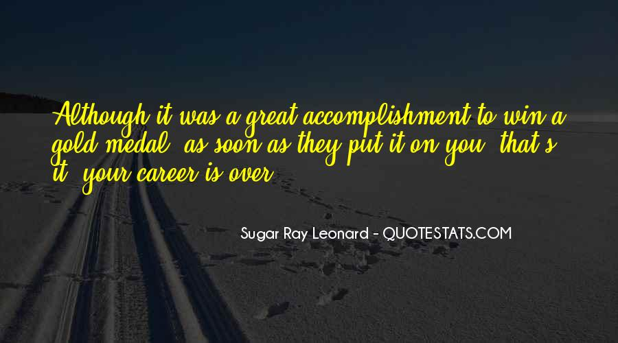 Quotes About Gold Medal #1044292