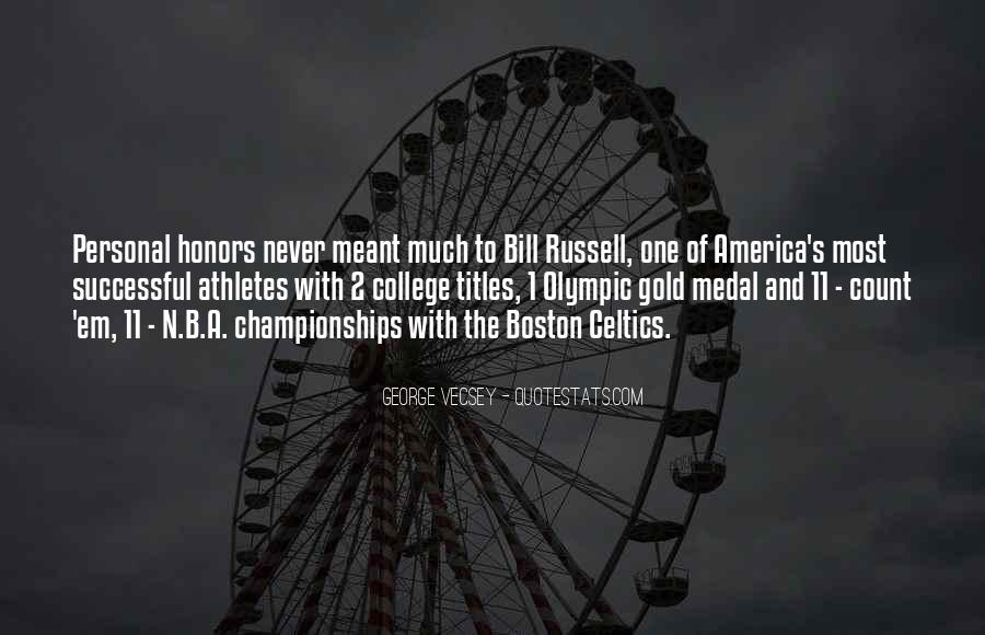 Quotes About Gold Medal #1071