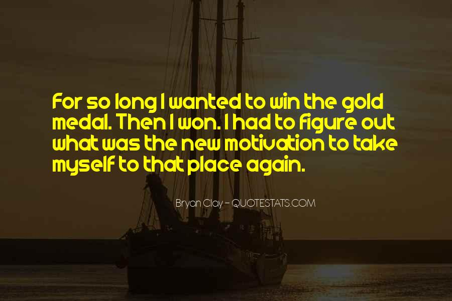 Quotes About Gold Medal #1139490