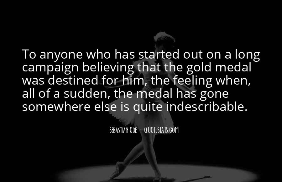 Quotes About Gold Medal #1184089
