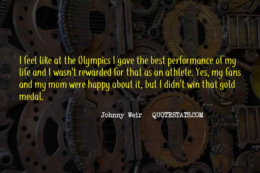 Quotes About Gold Medal #154068