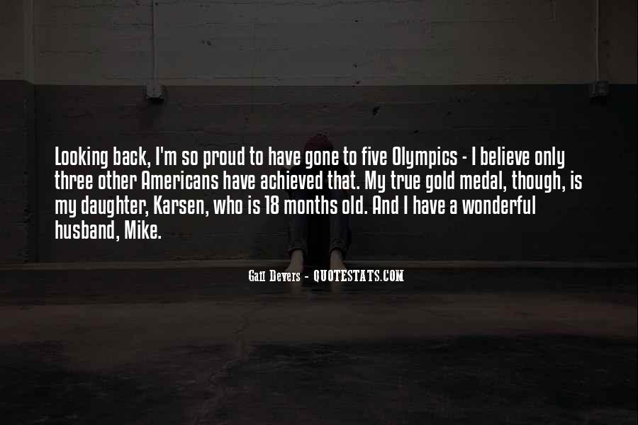 Quotes About Gold Medal #243469