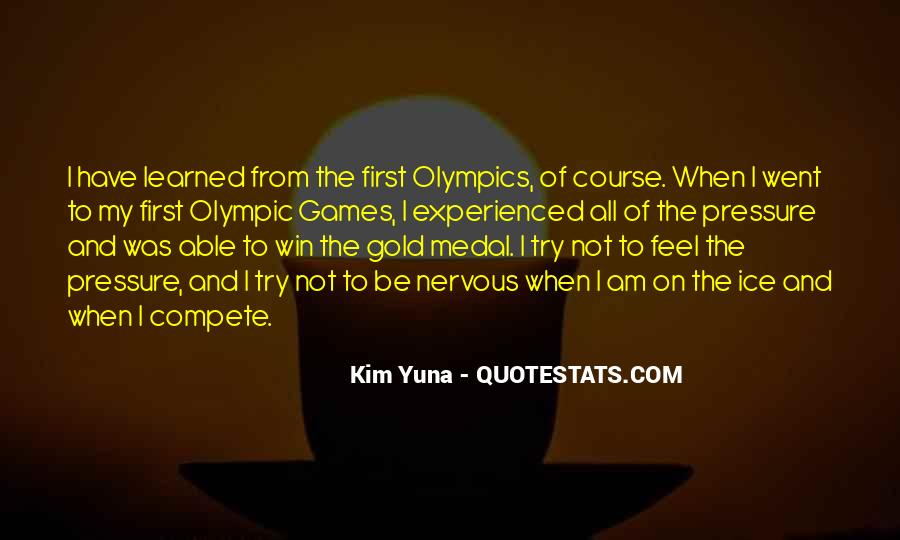 Quotes About Gold Medal #443970