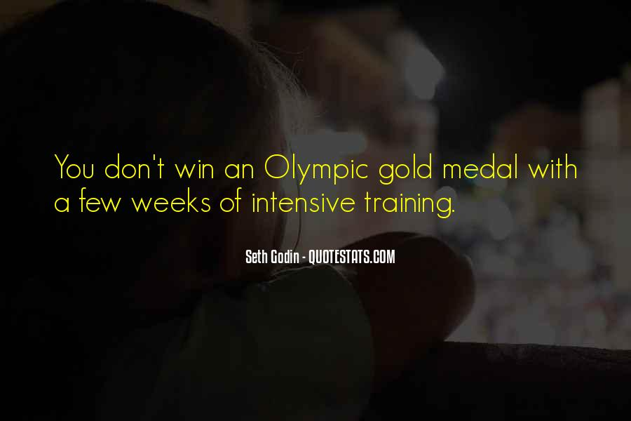 Quotes About Gold Medal #530932