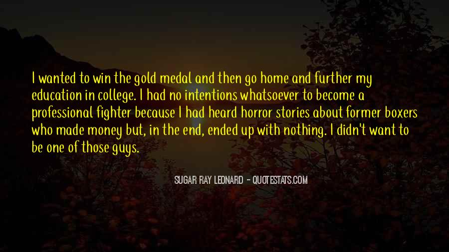 Quotes About Gold Medal #532088