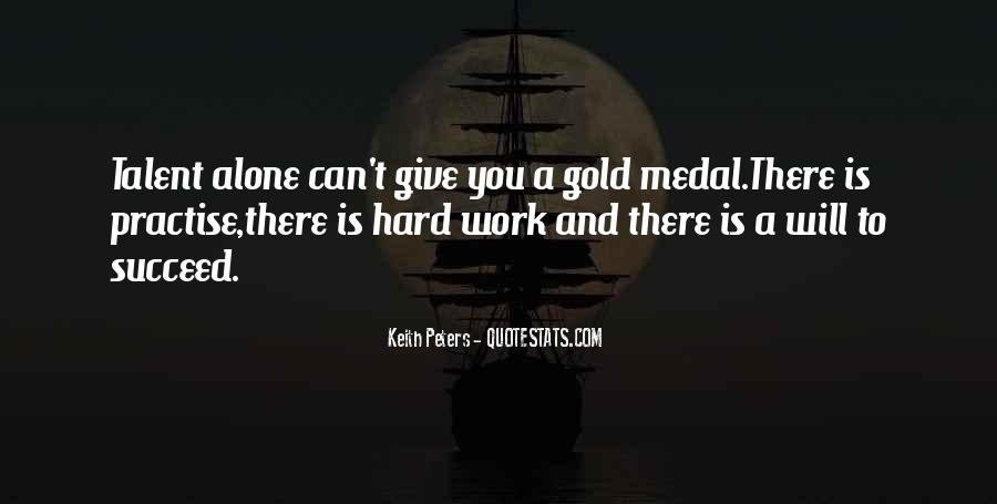 Quotes About Gold Medal #654911