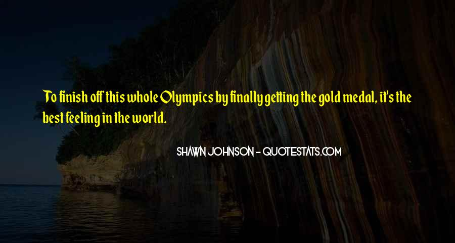Quotes About Gold Medal #688036