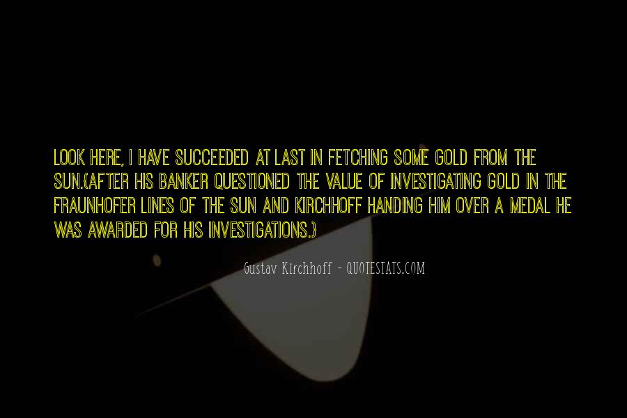 Quotes About Gold Medal #732216