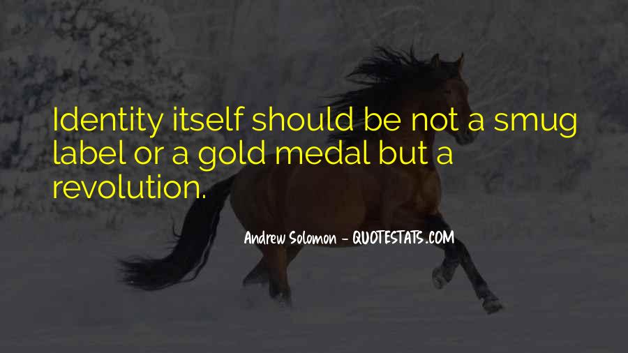 Quotes About Gold Medal #772260