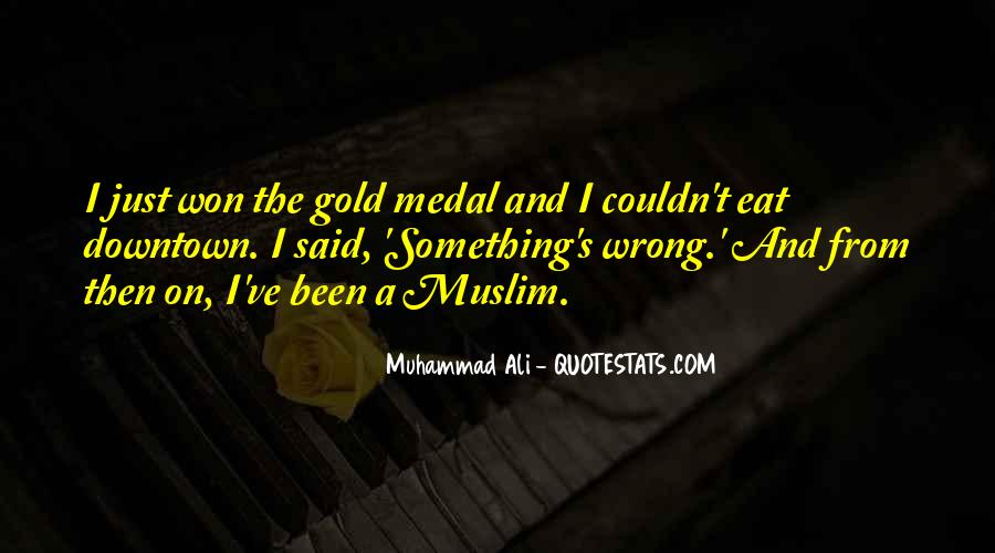 Quotes About Gold Medal #785904