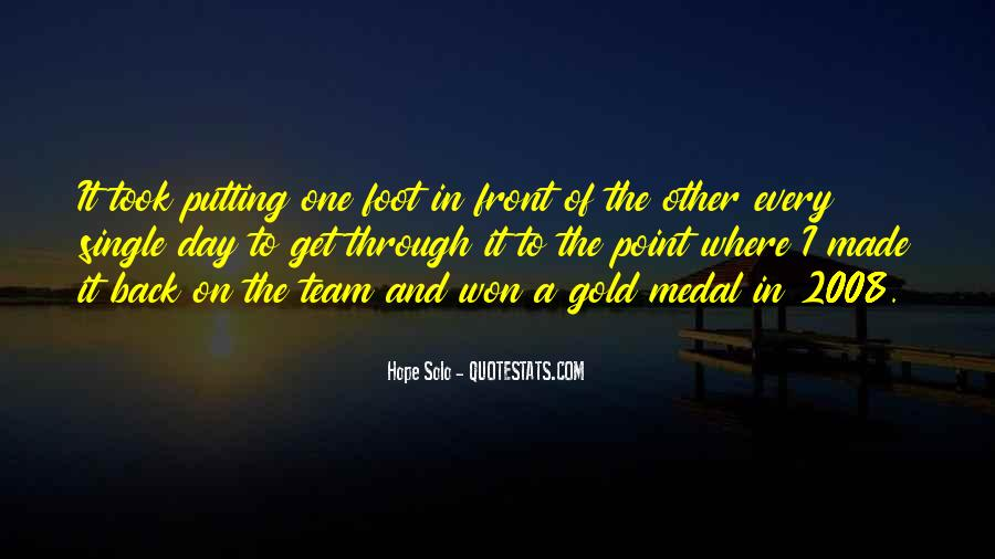 Quotes About Gold Medal #81822