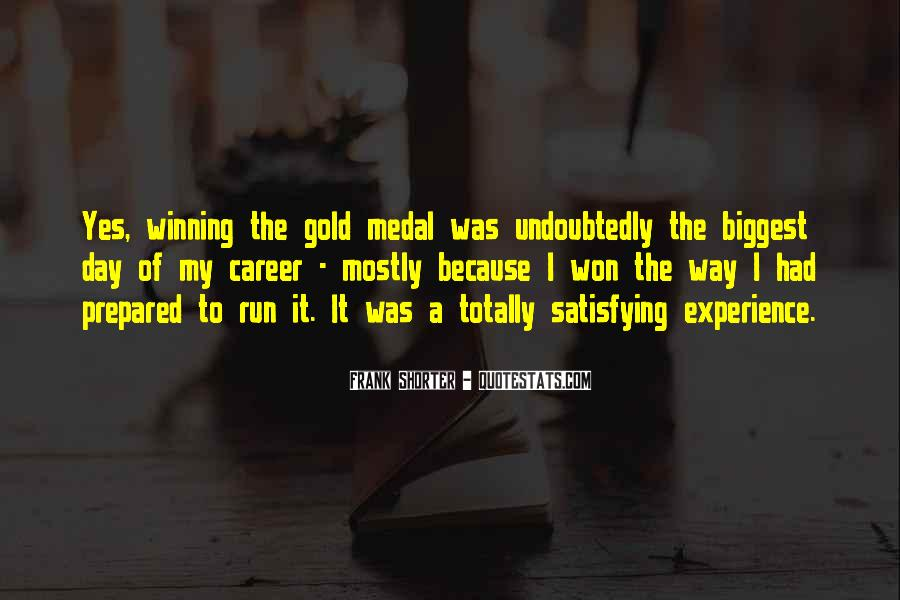 Quotes About Gold Medal #891592