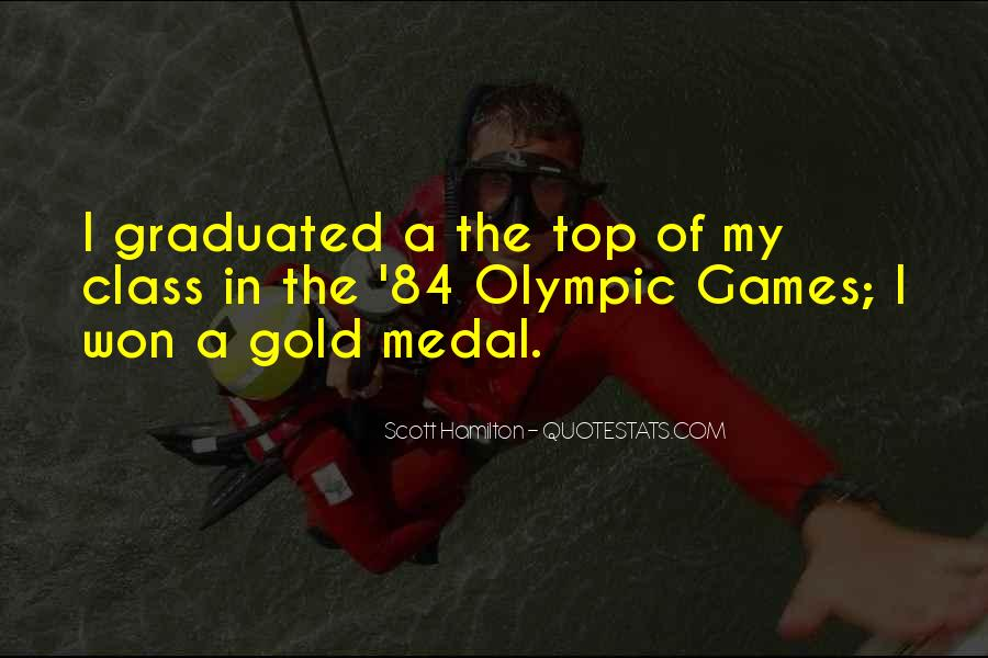 Quotes About Gold Medal #922376