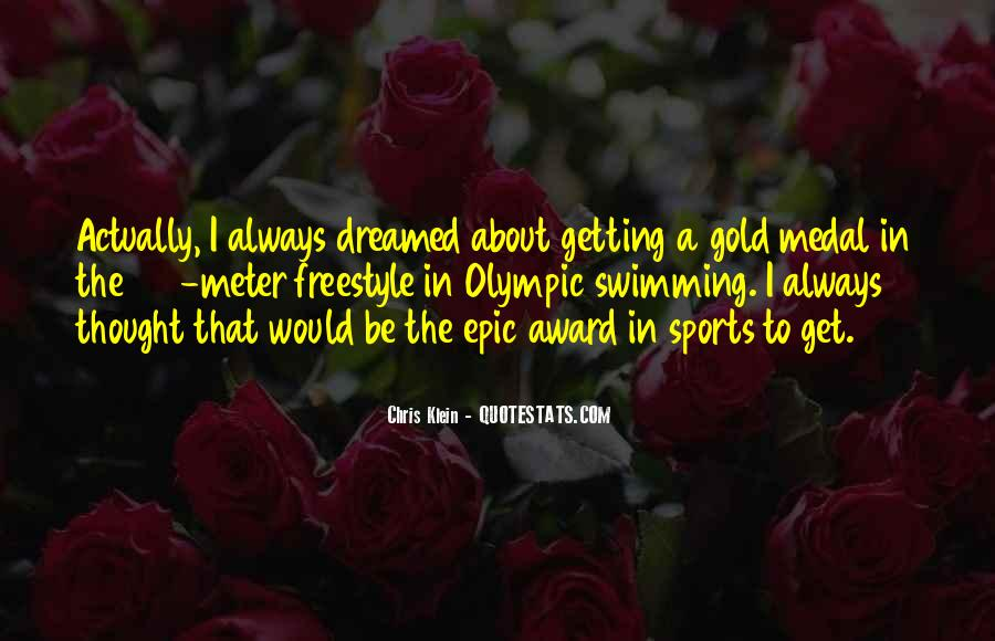 Quotes About Gold Medal #940812